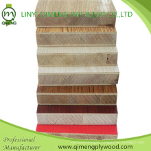 Professionally Supply 15-19mm Melamine Block Board Plywood with Good Price