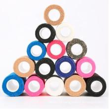 Hospital Grade 1 inch Non-slip High Cohesive Grip Tape Wrap Cover Elastic Adhesive Tattoo Grip Bandage