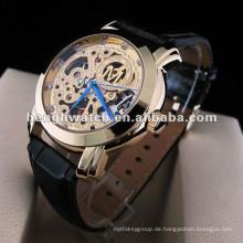 Mode automatische Uhr, Männer Edelstahl Uhren
