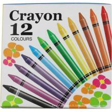 12pcs crayon mélange coloré enfants peinture crayons