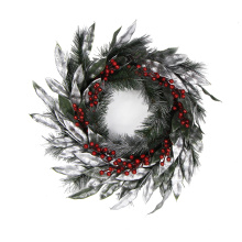 С Рождеством Рождественский венок 20см гирлянды для украшения
