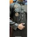 Masculino manga comprida casual muçulmano thobe