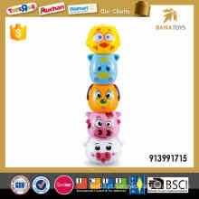 Brinquedos de jenga plástico de venda superior para crianças
