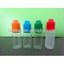 Plastic bottle for tobacco tar