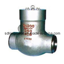 Cast Steel 600lbs Thread End Swing Check Valve with CE