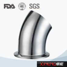 Acier inoxydable Sanitaire 45D Bend Coude avec pince (JN-FT4004)