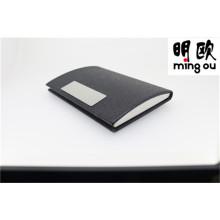 Qualidade Superior Metal PU Leather Business Nome Cartão Titular-1