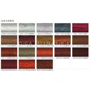 electrophoretic  coating and wood grain transfer printing color list