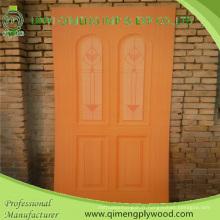 Contreplaqué brillant de peau de porte de polyèdre de 915X2135X2.7mm HPL de Linyi