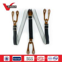 Custom print suspenders belts for Men