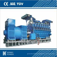 Diseño de la central de energía diesel con el generador 1000rpm