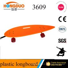 Nouvelle conception à la main de skateboard long avec panneau concave