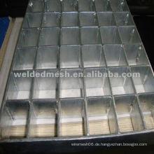 Schwere galvanisierte Gitterstahlplatte