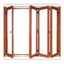 Porta de dobradura econômica multi leve econômica do estilo da varanda bom preço para a venda
