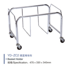 Supermarket Metal Shopping Basket Holder Yd-Zc2