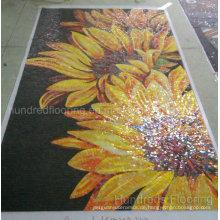 Artwork Mosaik, Mosaik Wandbild, Künstlerisches Mosaik für Mauer (HMP819)