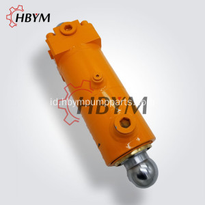 Cylinder Swing Hydraulic Plunger Untuk Sany S Valve