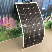 Flexible Single Crystal Solar Panel Power Supply Design