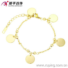 73577 bracelet de vente de mode xuping avec plaqué or 14 carats pour femme