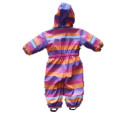 PU Stripe Conjoined impermeable / general para niños
