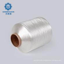 AA grade white bright nylon yarn dty nylon 6 yarns for woven label