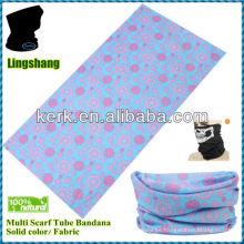 LSB193 La venta caliente del poliester de la bufanda de lujo del diseño de la flor imprimió Bandana inconsútil de múltiples funciones de Headwear