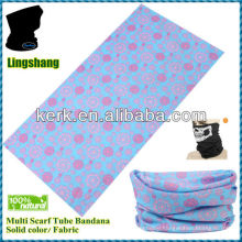 LSB193 Flower design fancy scarf polyester hot sale printed Multifunctional Seamless Headwear Bandana