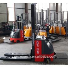 Empileur électrique à prix réduit en Chine chariot élévateur électrique