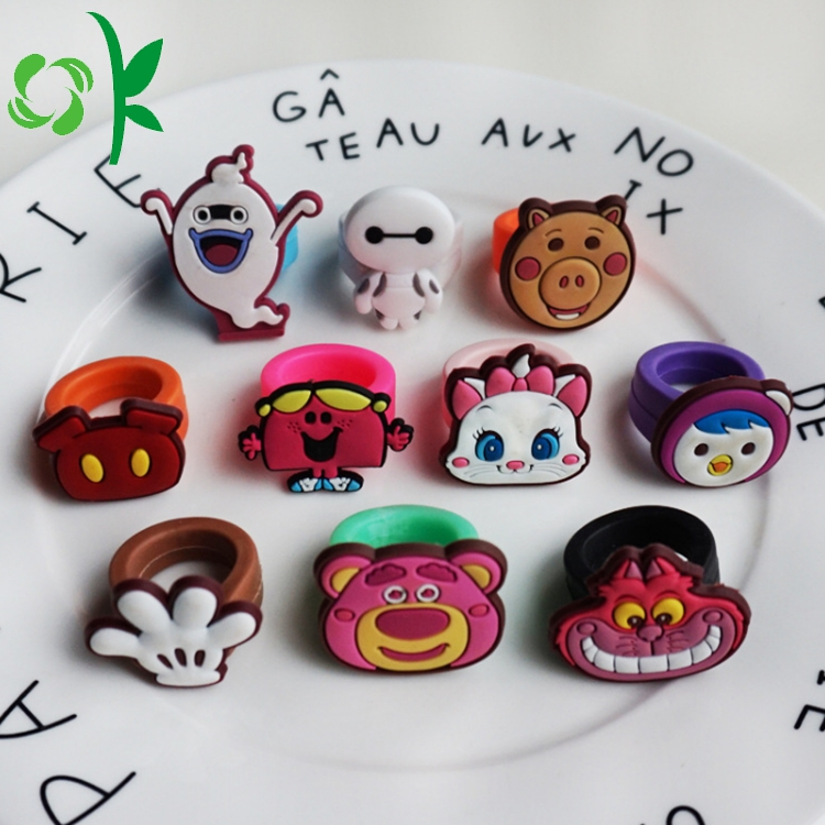 Silicone Cartoon Ring