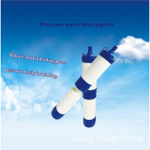Pressure water filter pipette factory