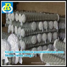 Pvc beschichtet oder heiß getaucht galvanisierte Kette Link Zaun Fabrik