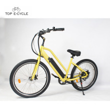 Potente motor de rueda trasera 1500w bicicleta de crucero eléctrica de playa