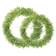 Искусственные диаметром 40см листьев венок для украшения chrismats