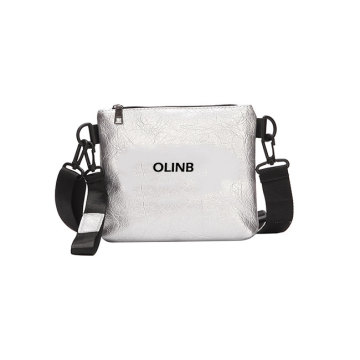 Vattentät PU Leather Mini Women Messenger Crossbody Väska