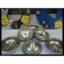 Алмазное чашечное колесо диаметром 230 мм и диаметром 22,23 мм