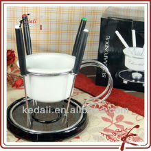 ceramic fondue fork set