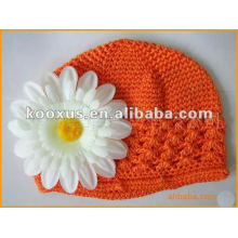 Newsboy crochet baby hats