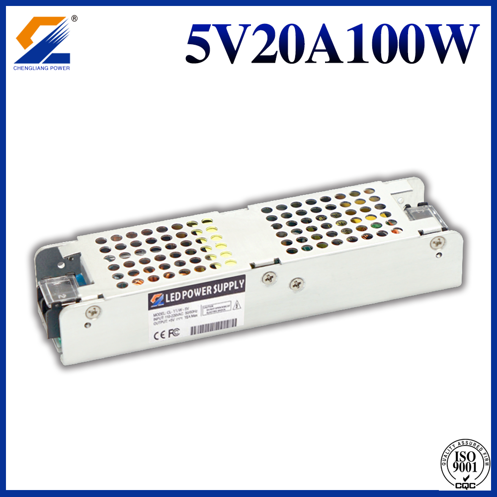 5V20A100W led power supply