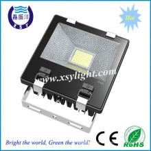 ETL Certified chip SMD Mean Well Driver luz de inundação de 8500lm 100w levou