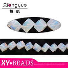 Opale Cube précieuses perles 12mm