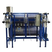 Máquina de planchar con cremallera de calefacción eléctrica