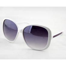 Mode Frauen Sonnenbrillen mit Farbverlauf Objektiv und Big Frame (14211)