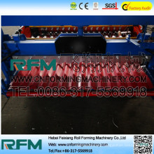 FX curving corrugated steel roof sheet roll machine
