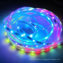 5M рулон 5 В постоянного тока WS2812B Адресуемых цифровой RGB 5050 rgbw светодиодные полосы