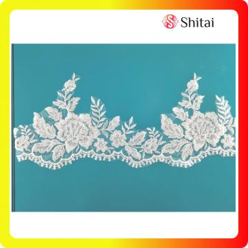 New fashion white wedding lace trimming