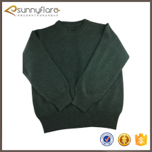 Good quality cashmere knitted wool sweater design for boys