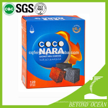 Shisha, charbon, coconara, coco, shisha, charbon de bois