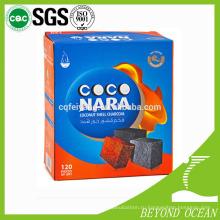 Шиша уголь coconara кокосового кальяна уголь
