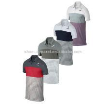 2014 camisetas de tenis de los hombres del poliéster, desgaste del tenis