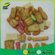 high quality mix snacks thai rice crackers for Saudi Arabia